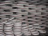 Núcleo de madeira roda borboleta abrasivos para polimento de Aço Inoxidável
