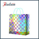 Modificar el bolso de papel olográfico barato del regalo para requisitos particulares del fabricante profesional de la película de Speical