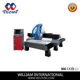 Máquina de grabado de madera auto de la máquina del CNC del cambio del eje de rotación