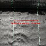 De PP preto Weaven gases com efeito de barreira de plantas daninhas tecido Paisagem
