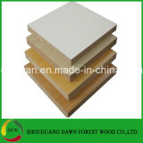 MDF profesional de la melamina de la fabricación 16m m para los muebles