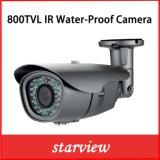 800tvl Camera van de Veiligheid van de Kogel van kabeltelevisie van IRL de Waterdichte (W22)