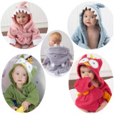 Детского дома с Cute Cartoon животных халат колпачковая малыша полотенца