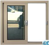 Qualitäts-doppeltes Glasgleitendes Aluminiumfenster