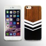 Caisse en bois faite sur commande de téléphone d'IMD TPU pour l'iPhone