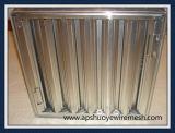 Фильтр для консистентной смазки дефлектора нержавеющей стали клобука ряда кухни