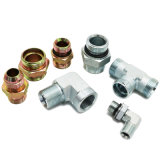 Acero al carbono China tubo flexible hidráulico y el adaptador (AC/AD/CA-RN/AD-RN)