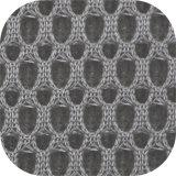 Luft-Ineinander greifen-Gewebe 100% des Polyester-Druck-Preis-Sicherheitskreis-3D