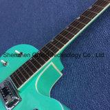 Double F Trous L5 de Jazz de corps creux, guitare électrique avec système de trémolo (TJ-294)