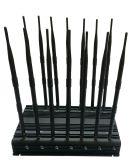 Aktualisierte Antennen-stationärer Handy-Hemmer des Versions-volle Band-Sicherheits-Warnungs-Hemmer-14; GPS, WiFi, VHF, UHF, 4G, 315, 433, Lojack Blocker