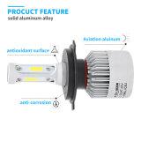 隠されたバラストおよびLEDのヘッドライト(6000K 12V H1 H4 H7 9005 9006)が付いている3つの側面のアップデートのBridgeluxの穂軸チップ(米国) LEDヘッドライトキットLEDのヘッドライト