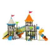Parque Infantil exterior de plástico para crianças e crianças (JYG-15028)
