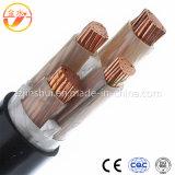 cabos distribuidores de corrente 12/20 de subterrâneos isolados XLPE de cabo distribuidor de corrente 240mm2 de 24kv milivolt blindados