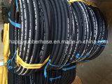 SAE100r2/2sn doppelte Draht-Flechten-hydraulischer Schlauch