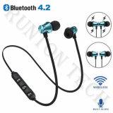 Cuffie senza fili Earbuds Handsfree di sport del trasduttore auricolare di Xt-11 Bluetooth con il Mic