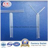 PP Fil d'acier brut comme la fibre de polypropylène Macro organiques Matériaux de construction