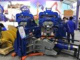 Китай экскаватор раскряжевка установлен гидравлический молот куча драйвера
