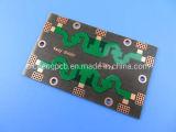 4 couches PCB hybride construit sur 0,01 RO4350B + 0,04 Fr-4 avec Enig