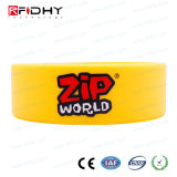 IP68 wasserdichte Silikon / Silikon RFID Proximity Tag Kautschuk-Armband