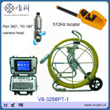 高い定義8インチTFTのモニタの内視鏡の管の点検カメラの下水管ラインクリーニングのカメラ