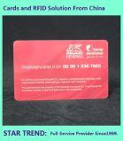 Het standaard Dikke Gemaakte Plastiek van de Kaart Cr80 0.76mm met Magnetische Streep voor Zaken