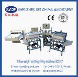 Het Openen van de vezel en het Plaatsen van het Gewicht van het Hoofdkussen het Vullen Machine