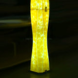 실내 장식 현대 형광 가짜 설화 석고 전기 스탠드 서 있는 빛