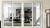 Diseño de la parrilla de estilo europeo para la residencia de puerta corrediza de vidrio