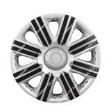 Горячая продажа черного и серебристого цвета Пластиковые колеса автомобиля Ceter ободов для всеобщего