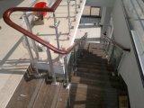 ステンレス鋼の縦桁および特別な手すりが付いているカスタマイズされた階段