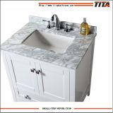 Governo di vanità della stanza da bagno con il controsoffitto del bacino e del marmo del materiale di ceramica
