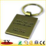 Corrente chave do metal em branco feito sob encomenda relativo à promoção da venda por atacado do presente