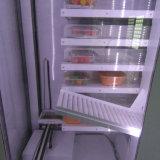 Máquina expendedora del alimento sano conveniente en salida de la banda transportadora