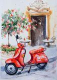 Het Met de hand gemaakte Olieverfschilderij van de hete Verkoop & van de Goede Kwaliteit voor de Decoratie van het Huis