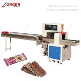 Envoltura industrial de la barra de caramelo de chocolate de la máquina del envasado de alimentos de bocados