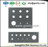 Estrutura em alumínio anodizado preto industrial com a norma ISO9001