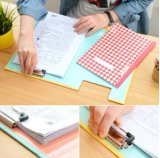 인쇄된 덮개를 가진 문구용품 반지 바인더 종이 서류정리 상자