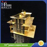 Juguete de la caída de la casa del producto del partido del arte del metal del regalo 3D de la promoción