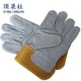 Перчатки заварки высокого качества кожаный сделанные из кожи коровы