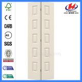 Porte en bois solide de douche de pli de Bi de pouce de Toronto de portes intérieures
