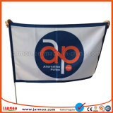 30x45см рекламных шелк трафаретной печати выборы в руках флаг