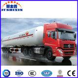 de l'essieu 58.5cbm 3 de pétrole brut d'essence de transport remorque semi