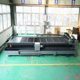 Haute précision de la CNC laser à fibre machine en acier au carbone pour tuyau de coupe de feuille