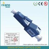 Le mâle intégré de FC/St/LC/Sc/Mu/DIN/MPO aux atténuateurs femelles de fibre optique a contenu la fibre dopée
