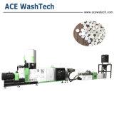 PP PE los residuos plásticos de ventilación de vacío único tornillo extrusor