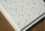 60X60 Raad van het Plafond van de Vezel van China niet van het Asbest de Populaire Akoestische Minerale