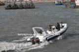 Liya 24,6 pés grandes barcos insufláveis barcos infláveis rígidos para venda