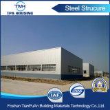 Taller prefabricado rentable de la estructura de acero del diseño