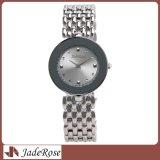 Orologio di vendita caldo della donna con la fascia dell'acciaio inossidabile e di caso impermeabile