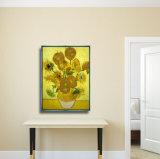 Самомоднейшее изображение картины маслом холстины цветка для домашнего украшения